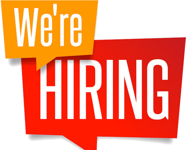 We're recruiting…come and join our team…